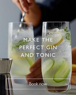 make the perfect gin and tonic class, book now