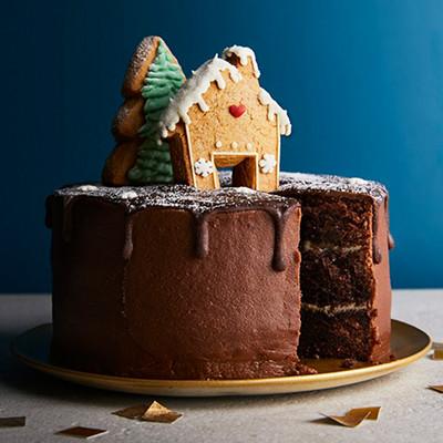 Image of Christmas Alpine Cake
