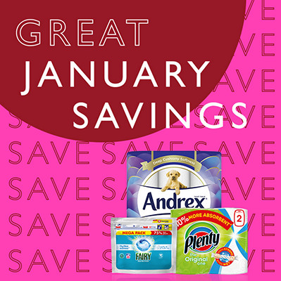 Image of Great January Savings Event Household