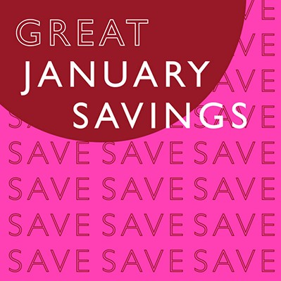 Image of Great January Savings Event