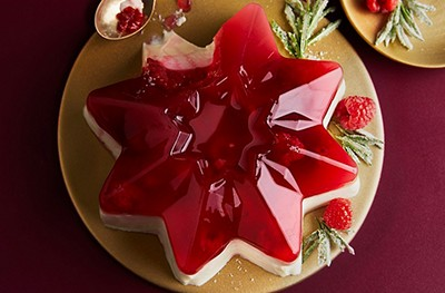 Image of Christmas Panna Cotta