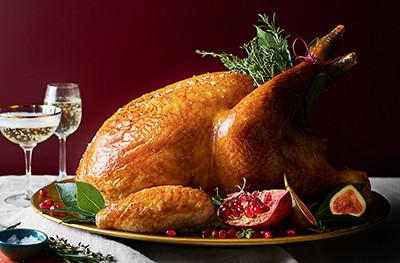 Image of Christmas turkey
