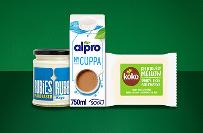 Image of vegan dairy-free alternatives