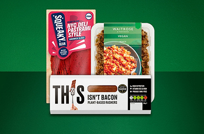 Image of vegan meat free products