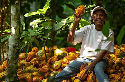 Fairtrade farmer