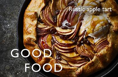 image of rustic apple recipe