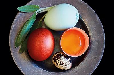 image of Clarence Court egg range