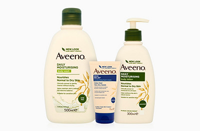 Aveeno JJ products