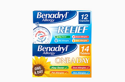 25% off Benadryl