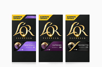 L'OR coffee pods
