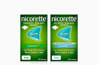2 for £22 Nicorette