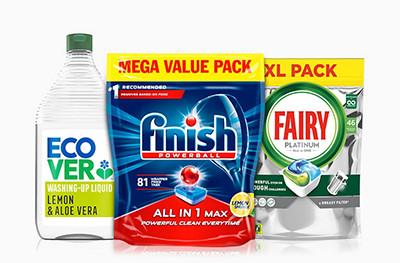 Save up to 1/3 on Dishwashing
