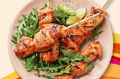 Chicken, Meat & Fish