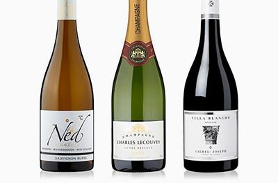 Wine & fizz offers