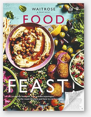 Waitrose Food Magazine May 2021