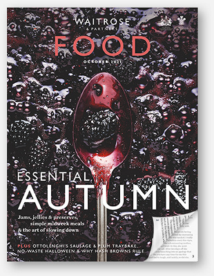 Waitrose Food Magazine October 2021