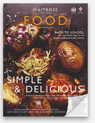 Waitrose Food Magazine September 2021